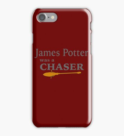 James Potter was a Chaser iPhone Case/Skin