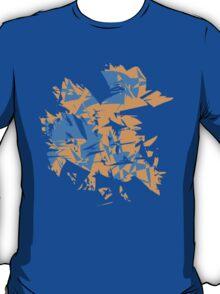 Orange and blue explode T-Shirt