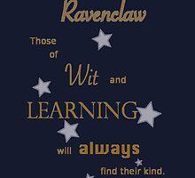 Ravenclaw Word Art by GeekyToGo