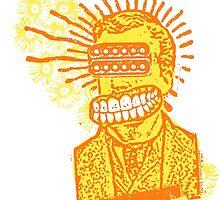 Happy Humbucker Head by Will Ruocco