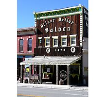 Silver Dollar Saloon, Leadville, Colorado Photographic Print