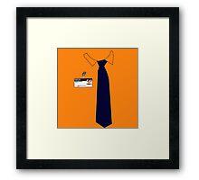 Dwight K. Schrute Uniform Framed Print