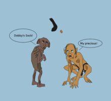 Dobby Vs. Gollum Kids Tee