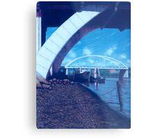 Towards the Granville Bridge - Brisbane Metal Print