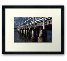 Balmoral Pier Framed Print