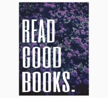 Read Good Books Baby Tee