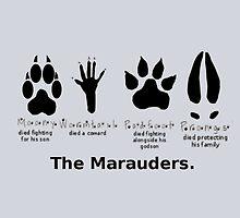 Marauders Animagus Footprint  by GeekyToGo