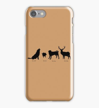 Marauders Full Body Animagus iPhone Case/Skin