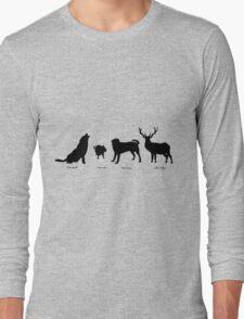 Marauders Full Body Animagus Long Sleeve T-Shirt