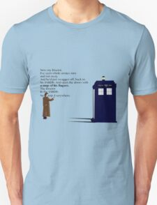 Doctor Who TARDIS River Song Quote T-Shirt