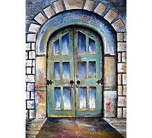 The door Photographic Print