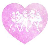 Sailor Moon - Galaxy Heart Photographic Print