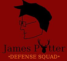 James Potter Defense Squad by GeekyToGo
