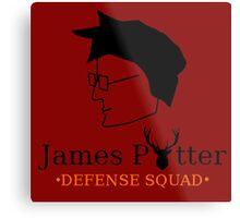 James Potter Defense Squad Metal Print