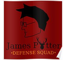 James Potter Defense Squad Poster
