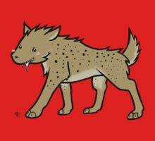Spotted Hyena Kids Tee