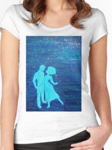 Dancing in the Stars Women's Fitted Scoop T-Shirt
