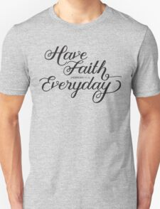 Have Faith in Pink T-Shirt