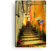 Sintra alley Canvas Print