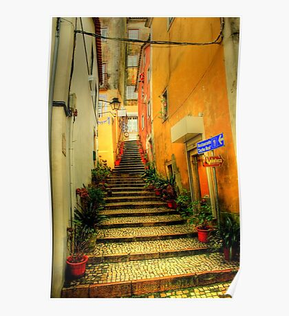 Sintra alley Poster