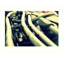 engine 004 Art Print