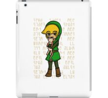 WW Link and Cat iPad Case/Skin