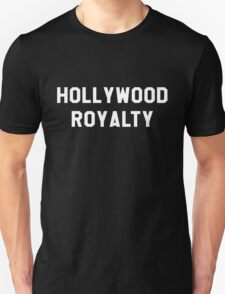 Hollywood Royalty- White T-Shirt