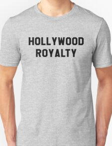 Hollywood Royalty- Black T-Shirt