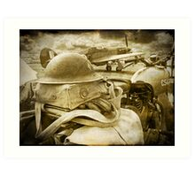 The Battle Of Britain is About to Begin - 1940 Art Print