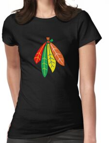 Chicago Blackhawks Womens Fitted T-Shirt