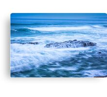 STREAMING OVER Canvas Print