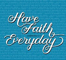 Have Faith in Blue by Jeri Stunkard