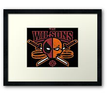The Wilsons Framed Print