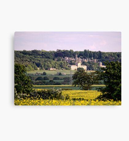Across the Fields Canvas Print