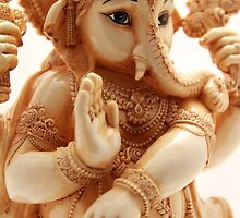 Lord Ganesha statue by jegi52001