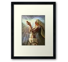 Forces of Creation Framed Print