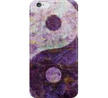 Purple Yin Yang iPhone Case/Skin