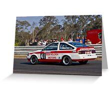 Bob Holden Toyota Corolla Greeting Card
