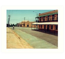 The Five Ways - Maryborough Qld Art Print