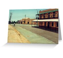 The Five Ways - Maryborough Qld Greeting Card