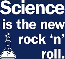 Science is the new rock 'n' roll Photographic Print