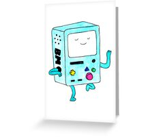 Watercolour BMO. Greeting Card
