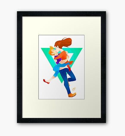 Community: Jeff & Annie (Welcome Home) Framed Print