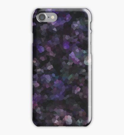 Mosaic Landscape, Night Sky iPhone Case/Skin