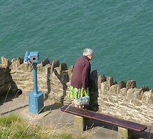 viewpoint old lady by James Edward  Mitchell