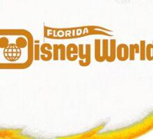 Disney Florida Orange Bird Classic WDW Logo Sticker