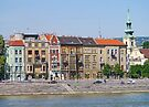 Apartments beside the Danube by Graeme  Hyde