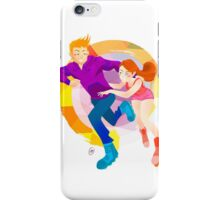Community: Jeff & Annie Roller-Skating iPhone Case/Skin