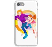 Community: Jeff & Annie Roller-Skating iPhone Case/Skin