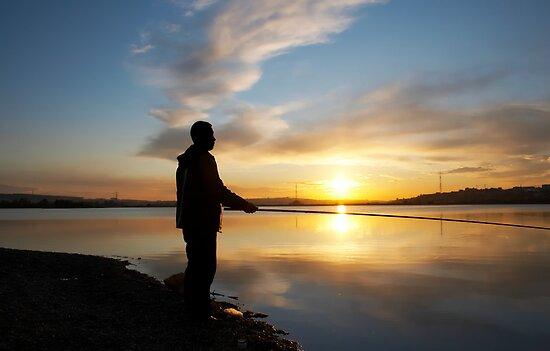 sunset fisher by sergeylukianov